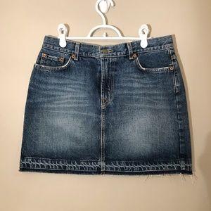 NWT | Vintage Lucky Brand Undone Denim Skirt Sz 8
